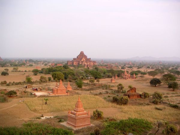 Pagoden in Bagan, Myanmar