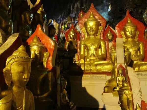 Pindaya Höhlen, Kalaw, Myanmar